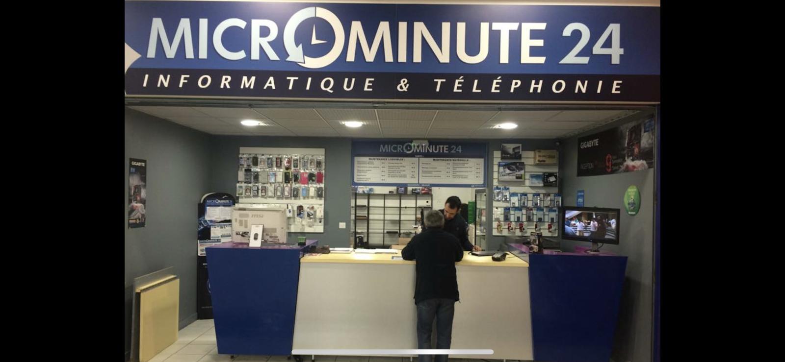 photo de la boutique de MICROMINUTE 24