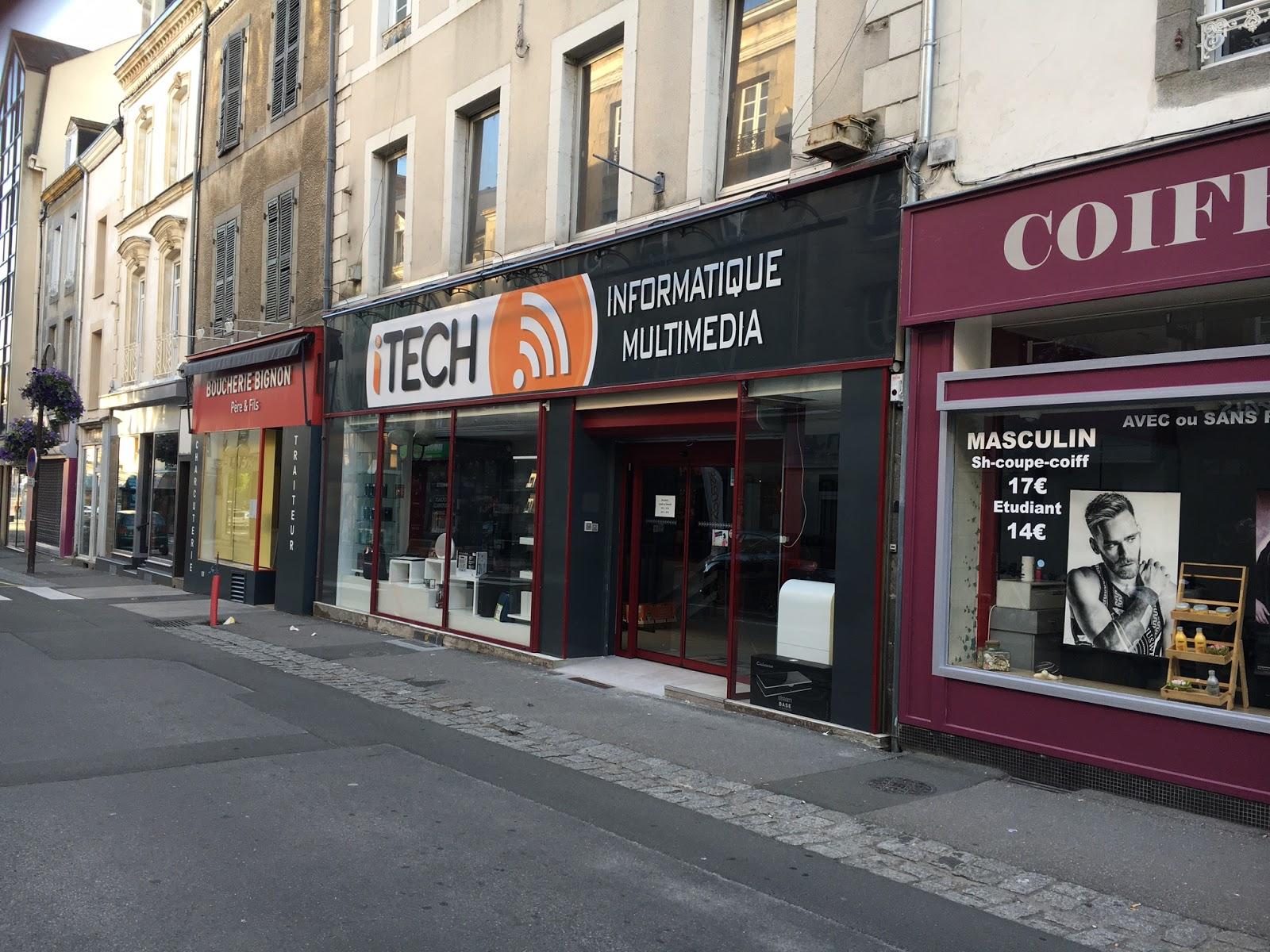 photo de la boutique de I-Tech Informatique