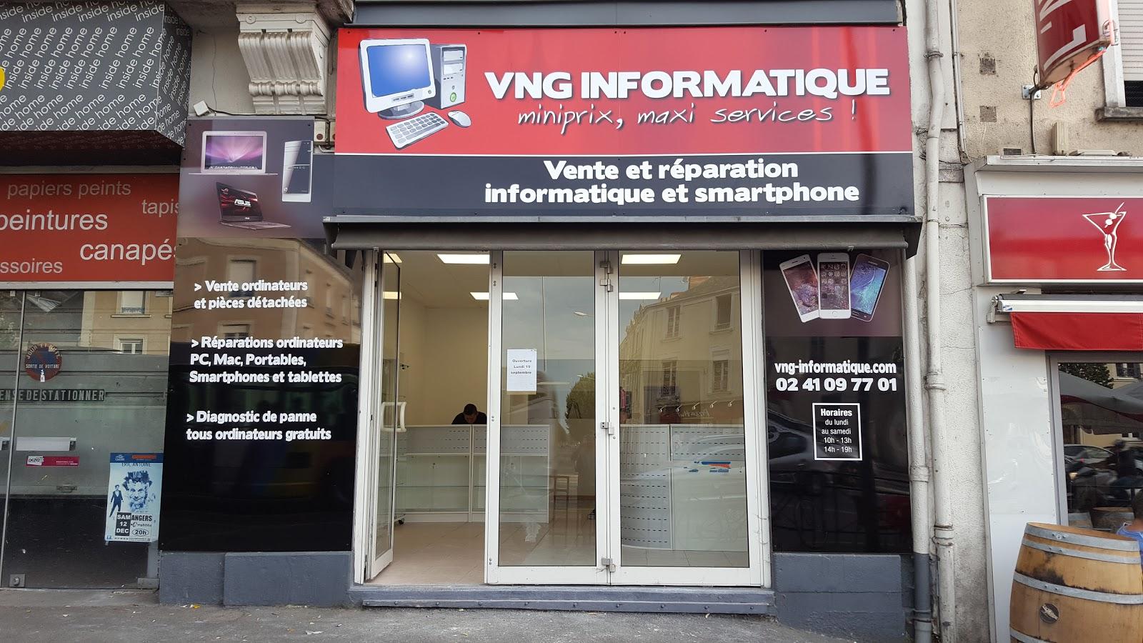 photo de la boutique de VNG informatique