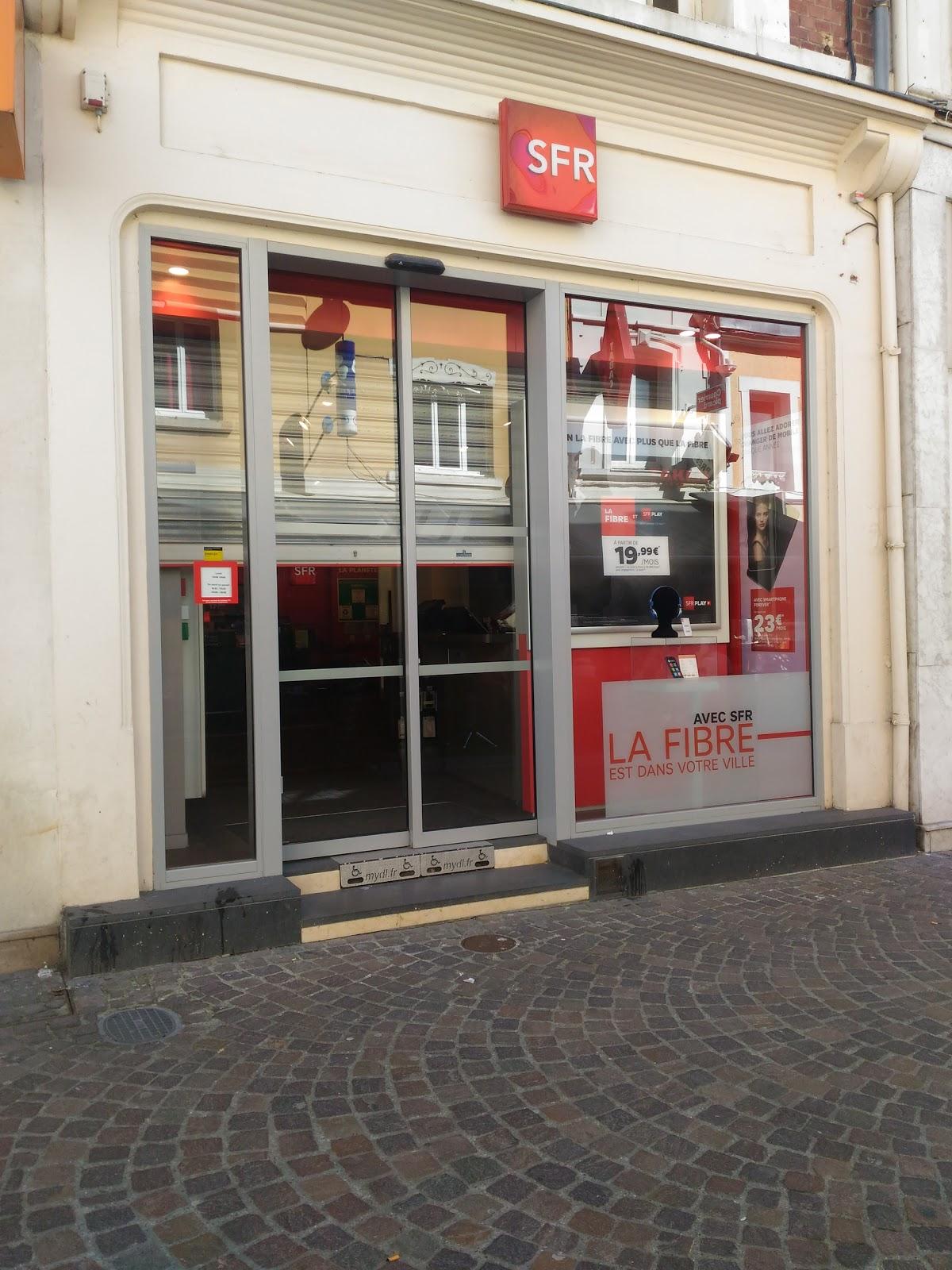photo de la boutique de SFR