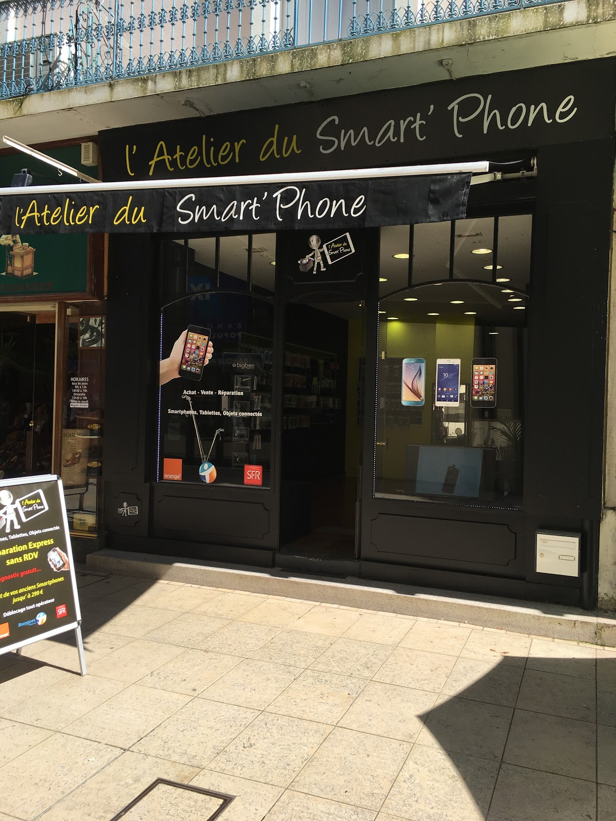 photo de la boutique de L Atelier Du Smartphone Vichy