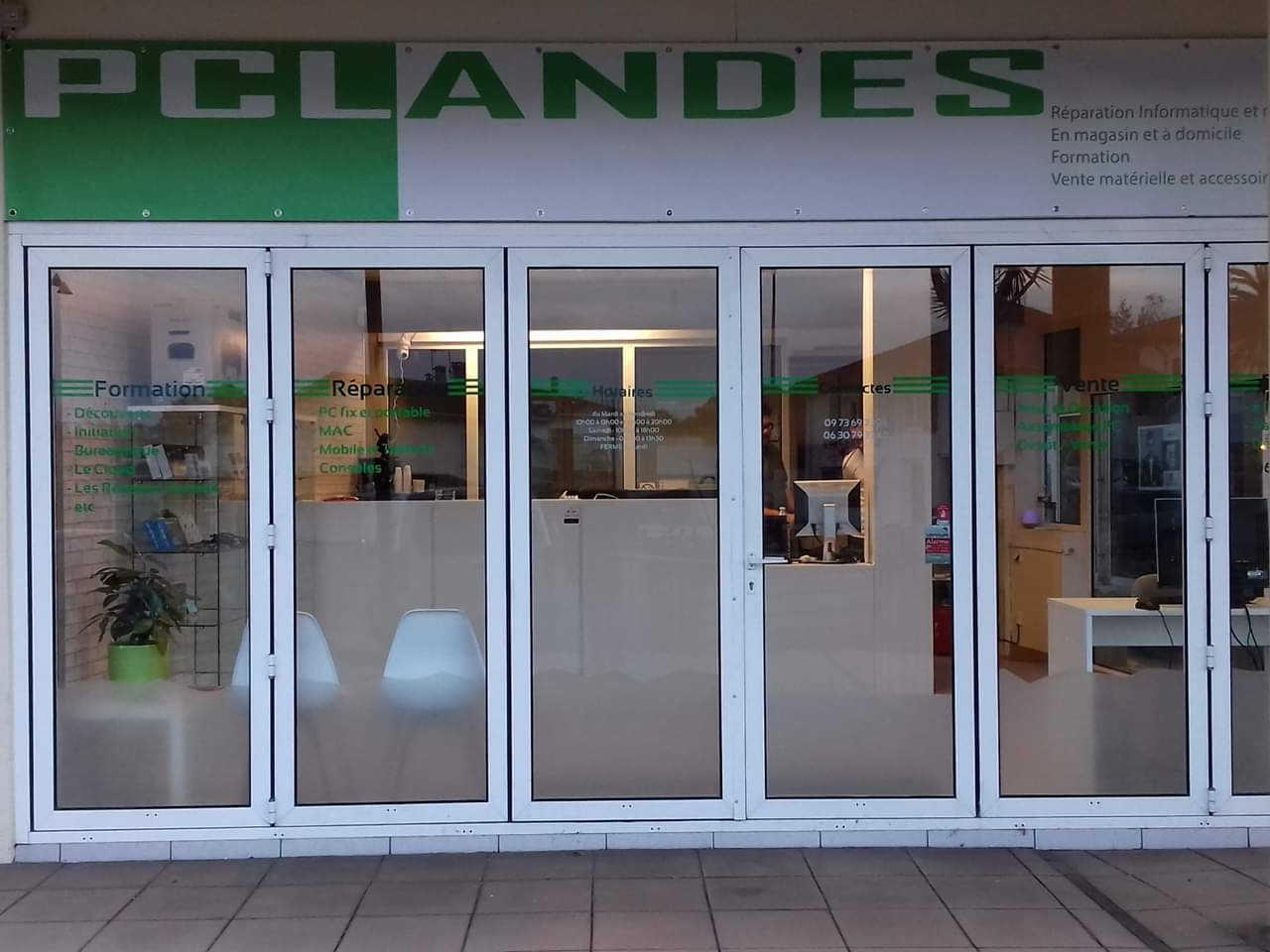 photo de la boutique de Pc landes