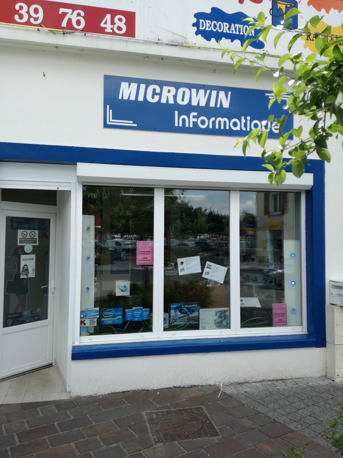 photo de la boutique de Microwin