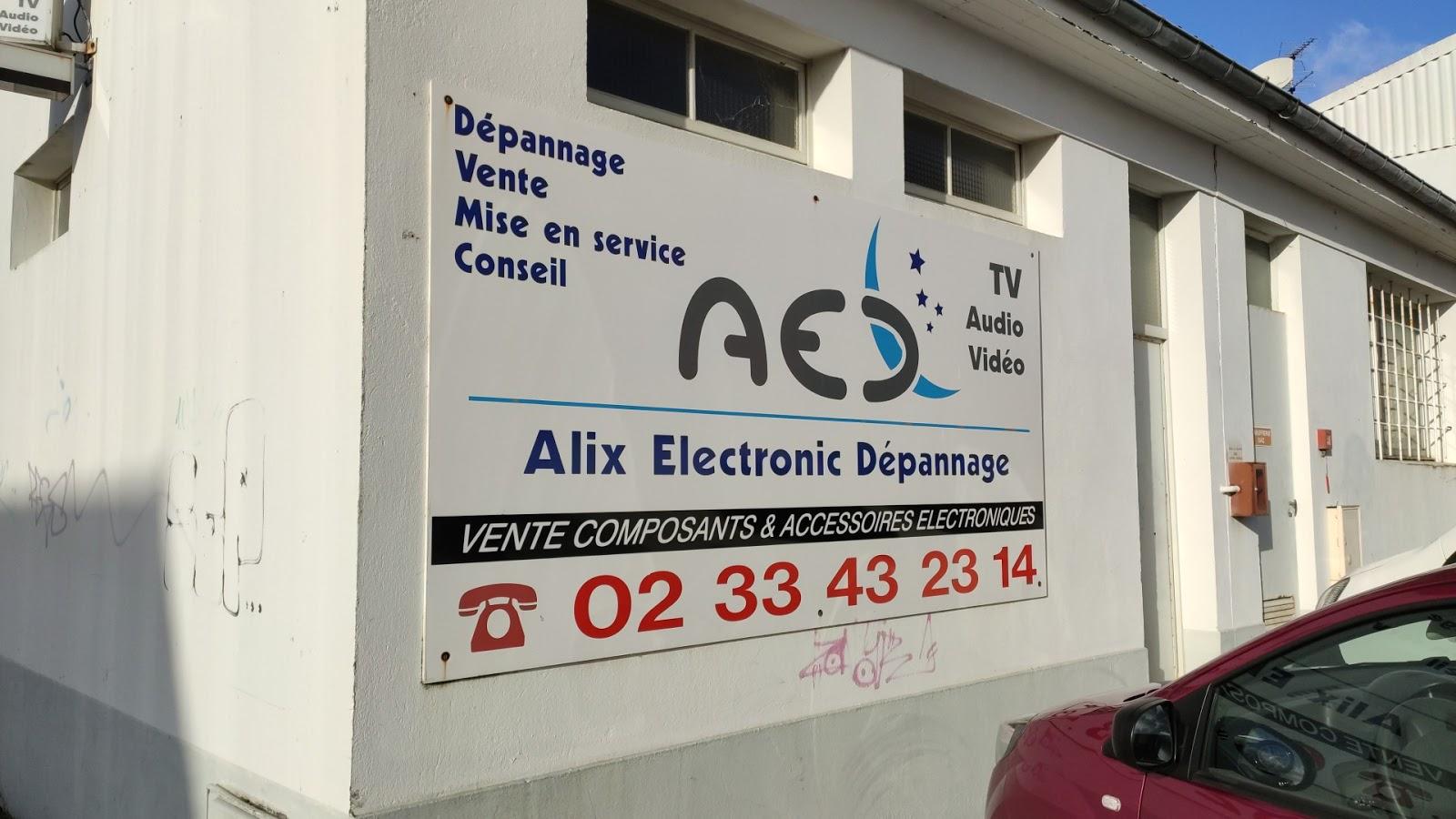 photo de la boutique de AED Electronique Cherbourg
