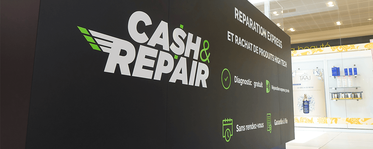 photo de la boutique de Cash and Repair Vannes - Réparation Smartphones, Tablettes, PC portables et Rachat