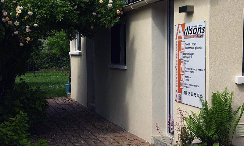 photo de la boutique de €co dépann (Les artisans du net) Troyes Dépannage TV Hifi vidéo électroménager