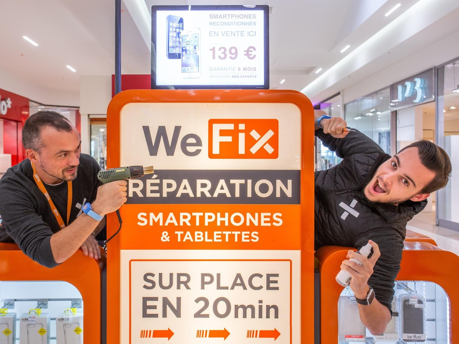 photo de la boutique de WeFix - Etrembières