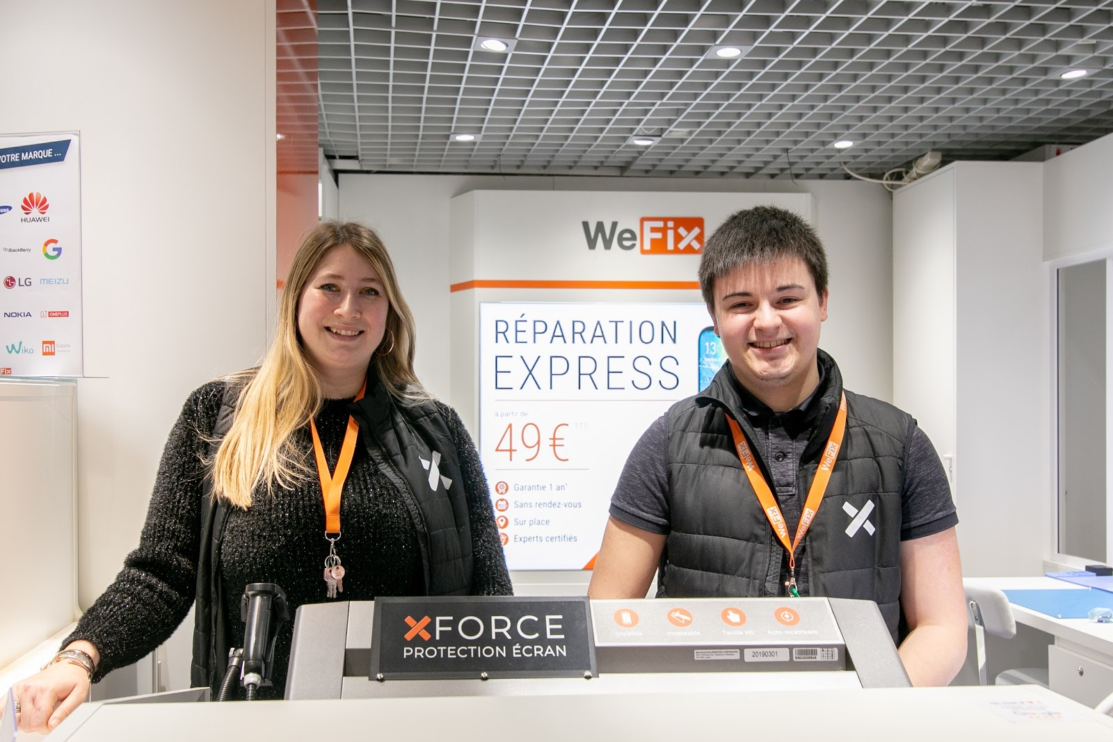 photo de la boutique de WeFix - Fnac Angers