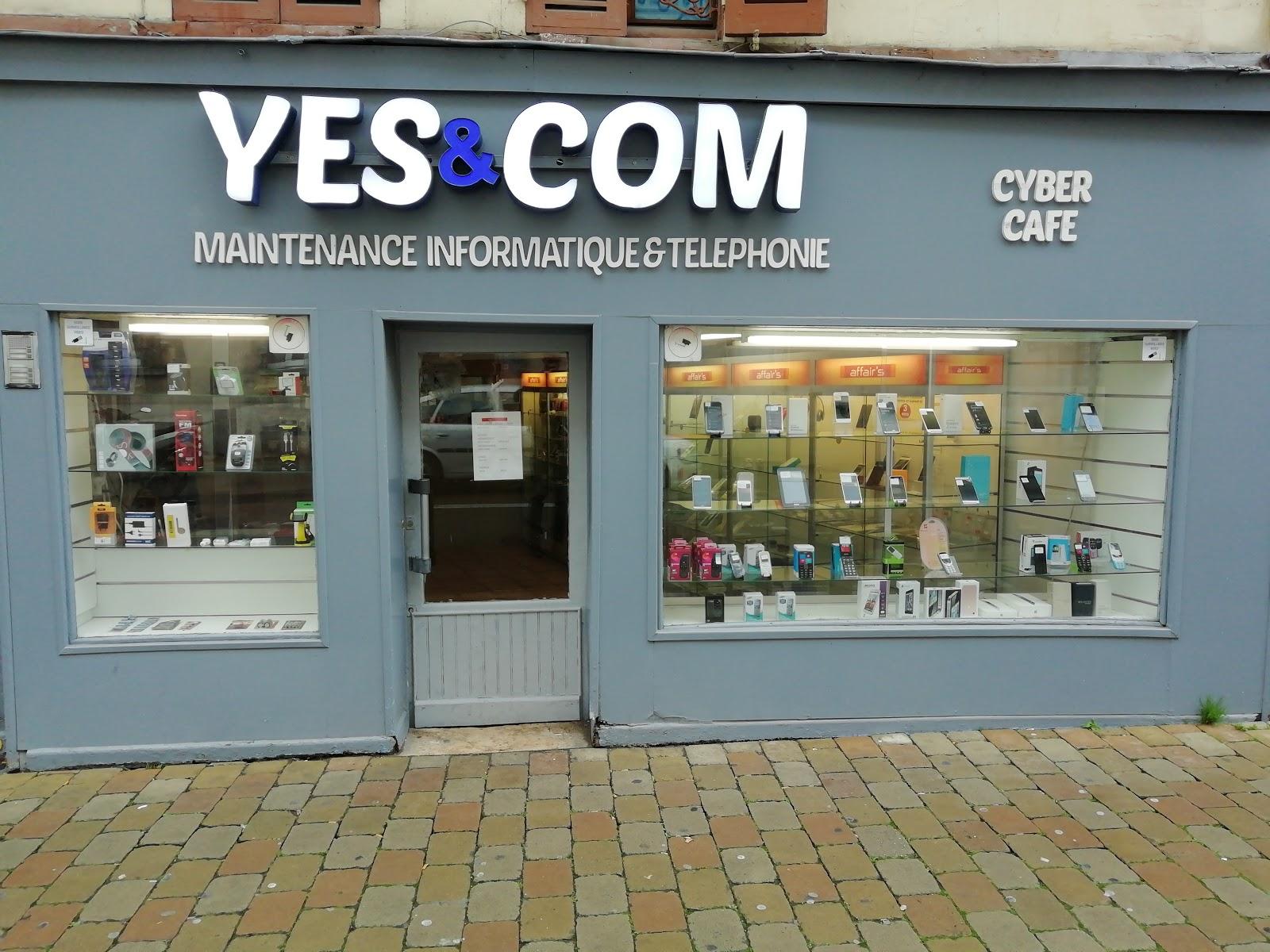 photo de la boutique de YES'COM Réparation téléphone portable