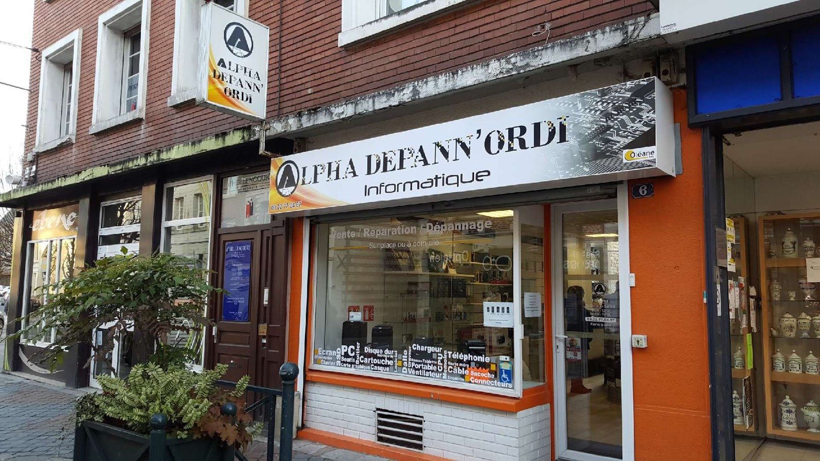 photo de la boutique de Alpha Dépann'ordi