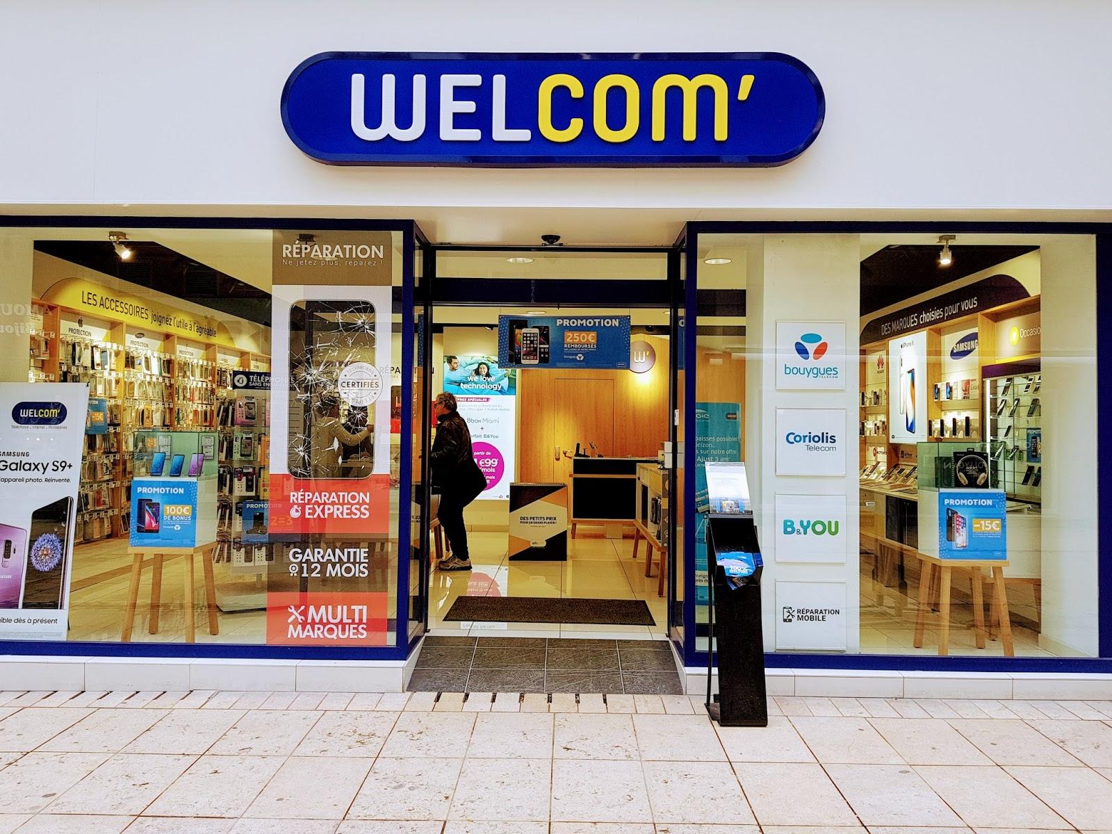 photo de la boutique de Welcom - Téléphonie, Internet, Accessoires, Réparation